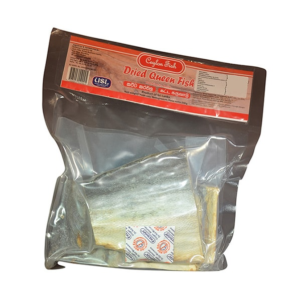 Ceylon Fish - Dried Queen Fish (Katta) 200g