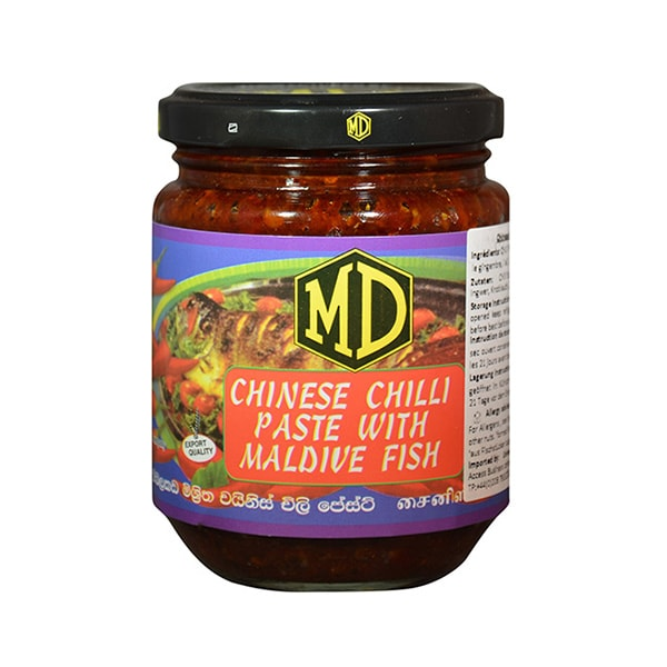 MD - Chinese Chilli Paste with Maldive Fish 200g