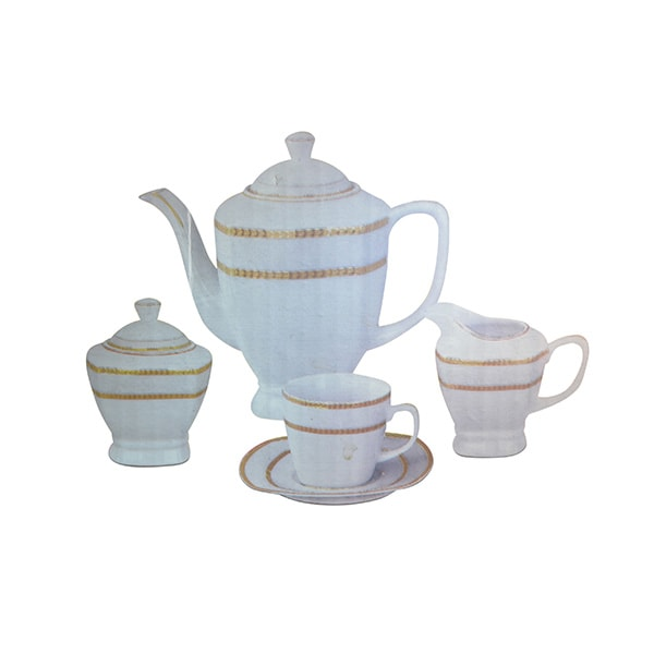 17 Pcs Tea Set 8