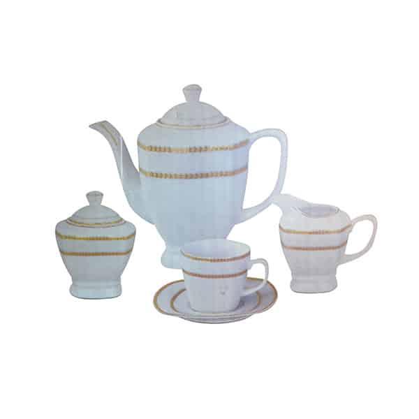 17 Pcs Tea Set 8