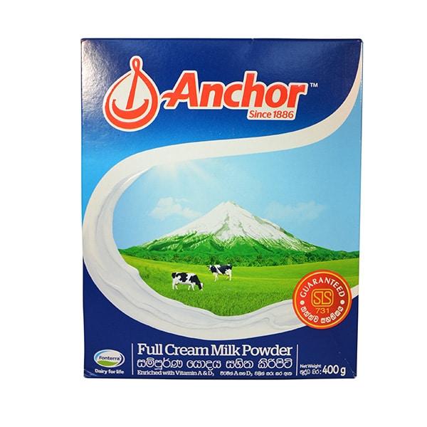 Anchor - Full Cream Milk Powder 400g