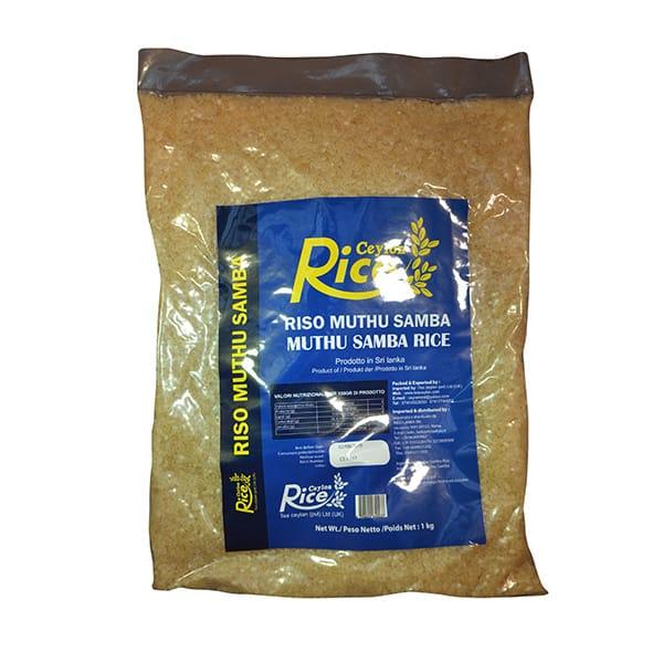 Ceylon Rice - Muthu Samba Rice 1kg