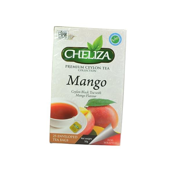 Cheliza - Premium Ceylon Tea Mango (25 bags) 50g