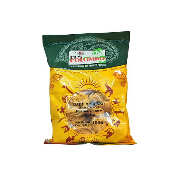ITS Colombo - Baby Murukku (Extra Spicy) 100g