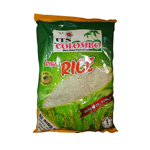 ITS Colombo - White Raw Rice 1kg