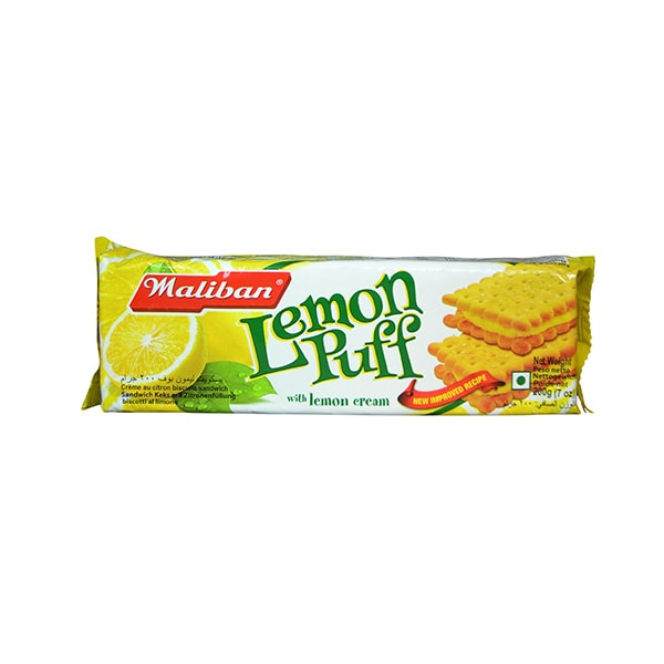 Maliban - Lemon Puff 200g