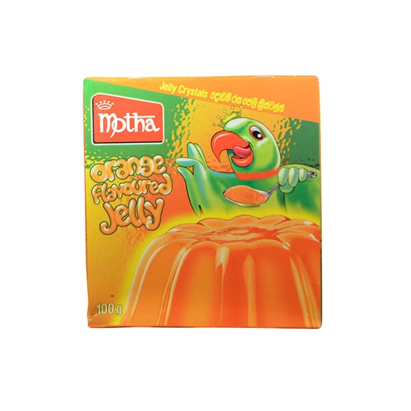 Motha - Orange Flavoured Jelly 100g