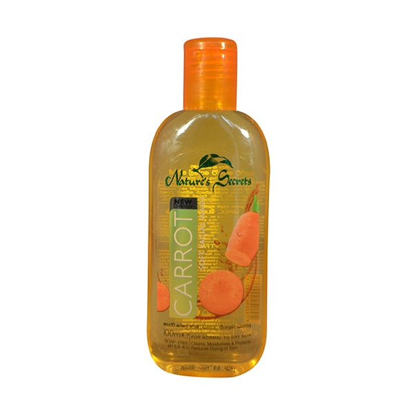 Nature's Secrets - Facial Wash Carrot 100ml