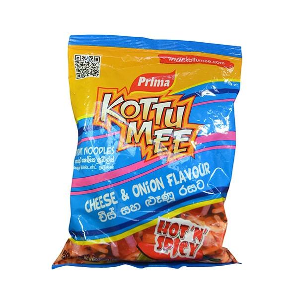 Prima - Instant Noodles Kottu Mee Cheese _ Onion Flavour 80g