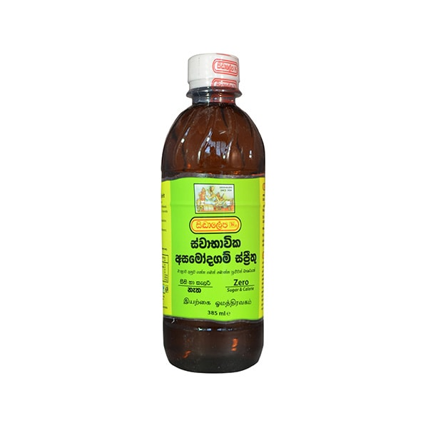 Siddhalepa - Natural Asamodagam Spirit 385ml