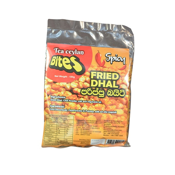 Tea Ceylan Bites - Fried Dhal (Spicy) 100g
