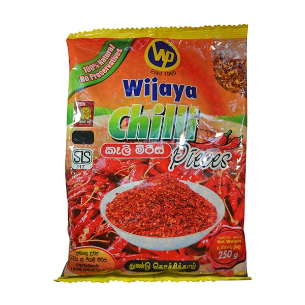 Wijaya - Chilli Pieces 250g