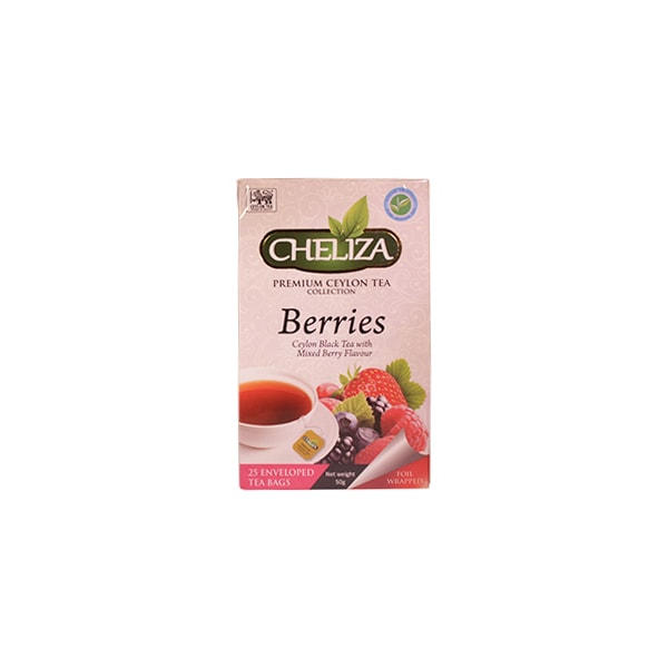 Cheliza - Premium Ceylon Tea Berries Sensation 125g