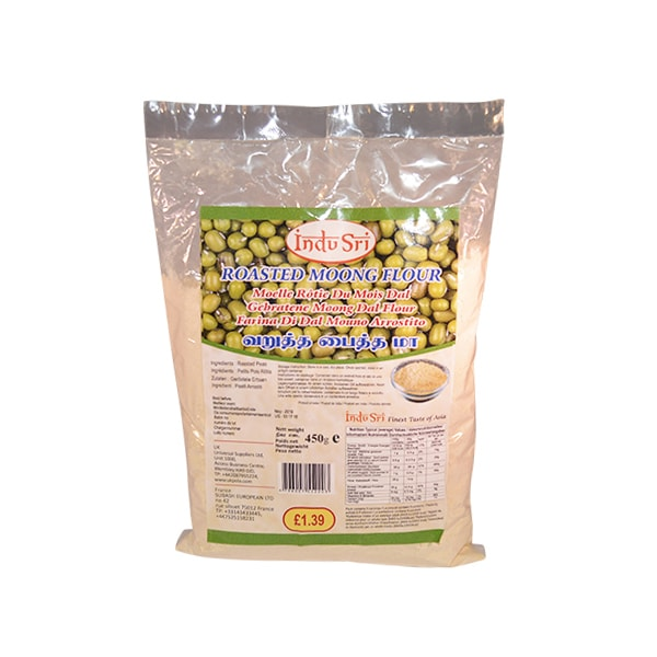 Indu Sri - Roasted Moong Flour 450g