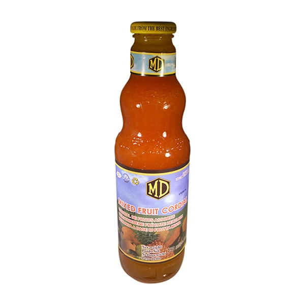 MD - Mixed Fruit Cordial 750ml