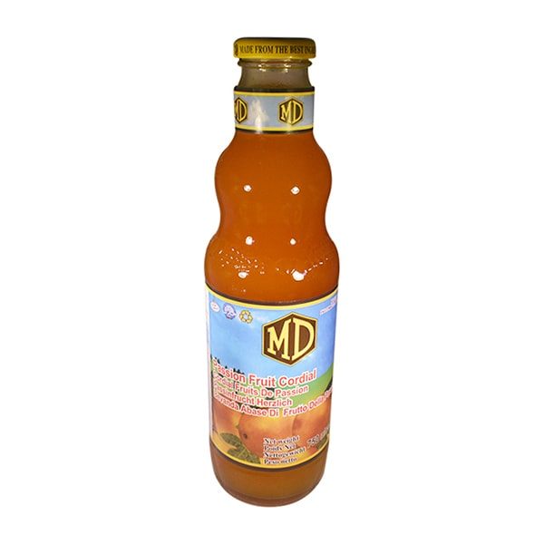 MD - Passion Fruit Cordial 750ml
