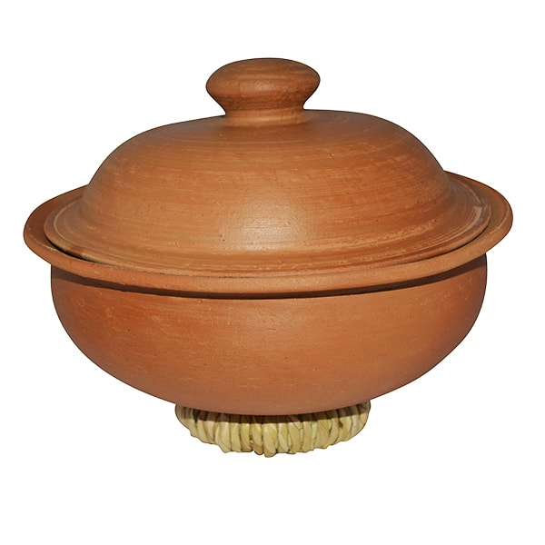Clay Curry Pot Large + Lid