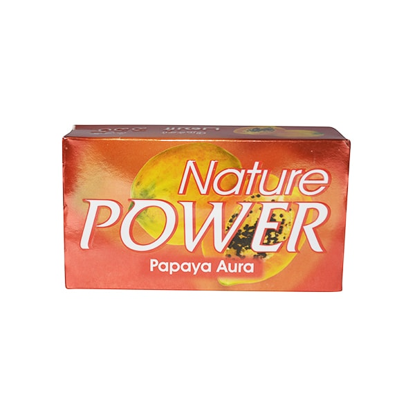 Nature Powder - Papaya Aura Soap 125g