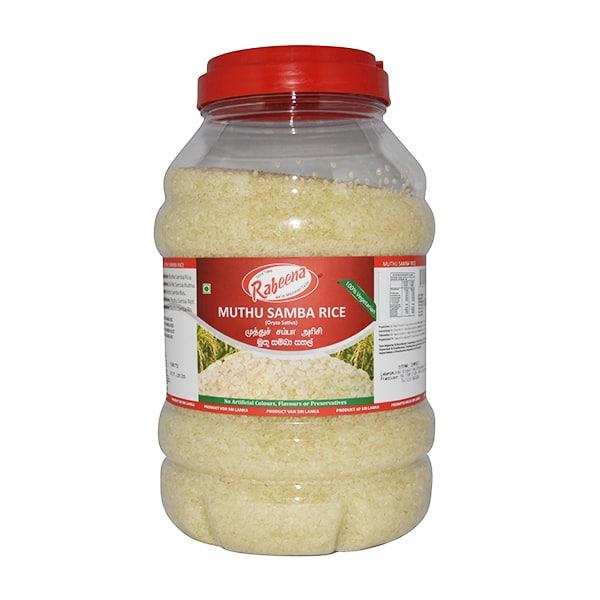 Rabeena - Muthu Samba Rice (Bottle) 5kg