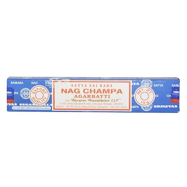 Shrinivas Sugandhalaya - Satya Sai Baba Nag Champha Agarbatti 15g