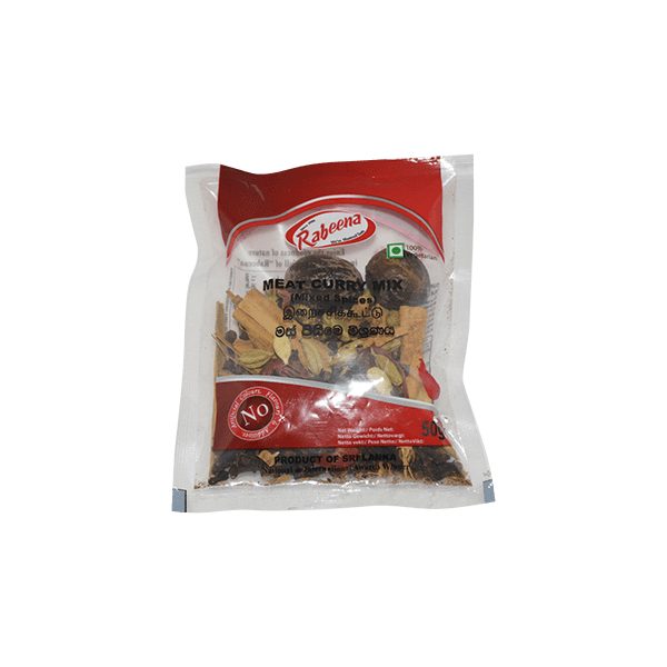 Rabeena - Meat Curry Mix (Mixed Spices) 50g