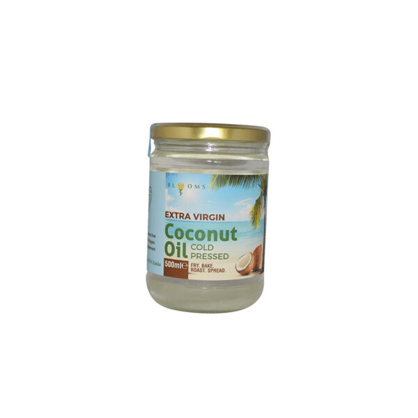 Blooms - Extra Virgin Coconut Oil Cold Pressed 500ml