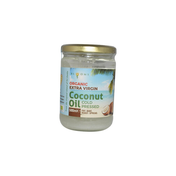 Blooms - Organic Extra Virgin Coconut Oil Cold Pressed 500ml