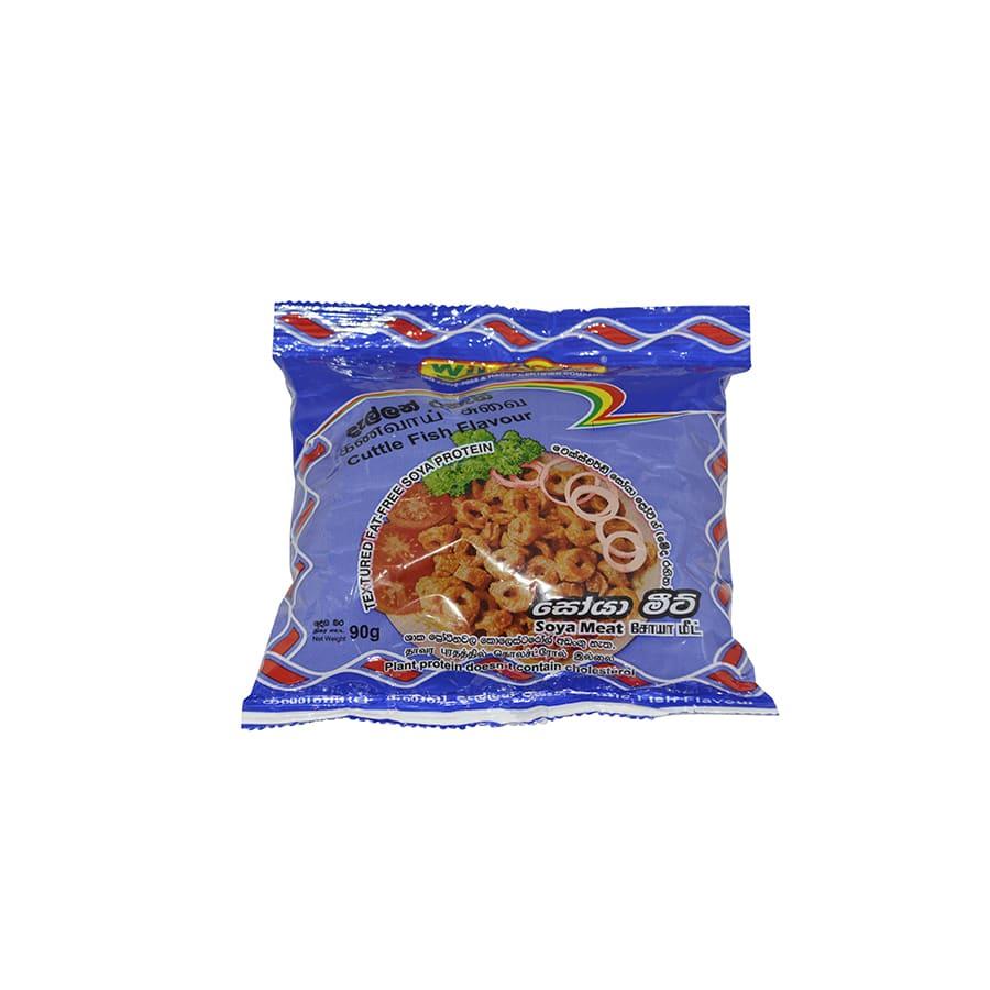 Wiji Soya - Soya Meat Cuttle Fish Flavour 90g