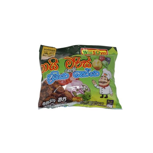 Wiji Soya - Soya Meat Nai miris Flavour 70g