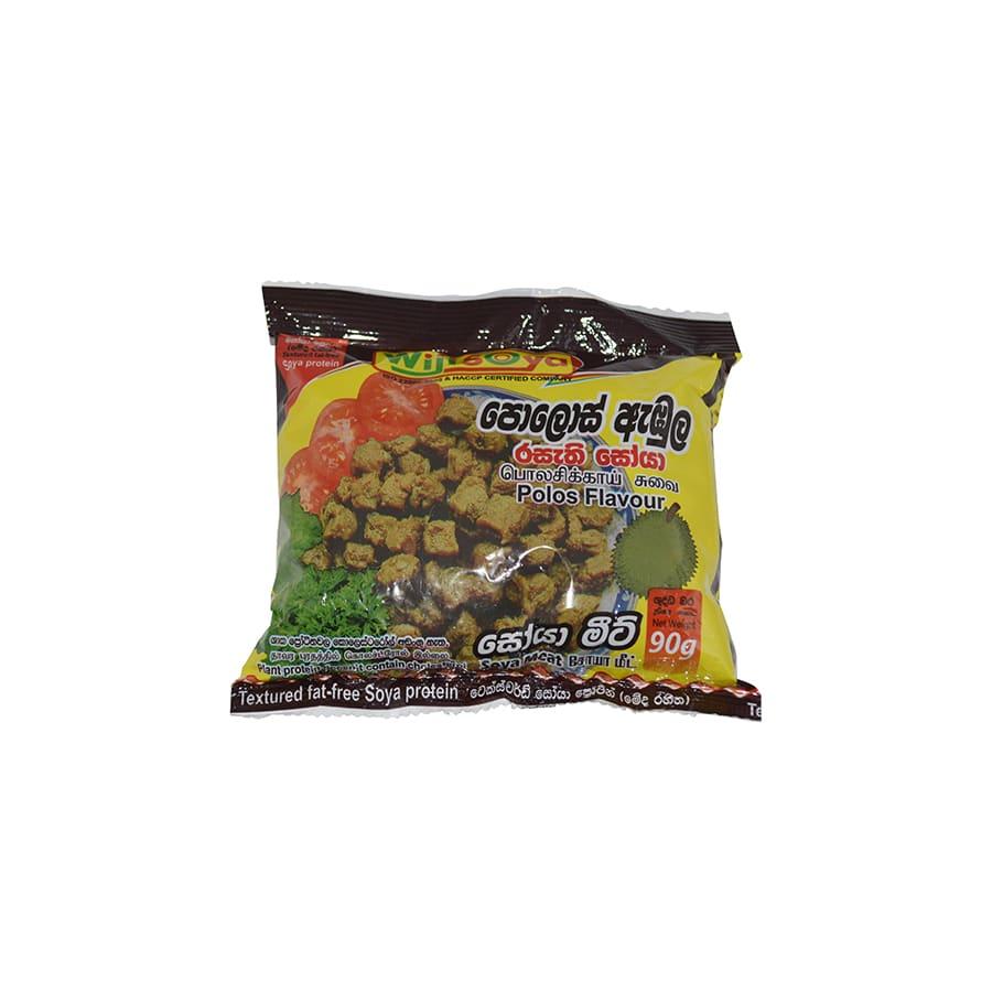 Wiji Soya - Soya Meat Polos (Green jackfruit) Flavour 90g
