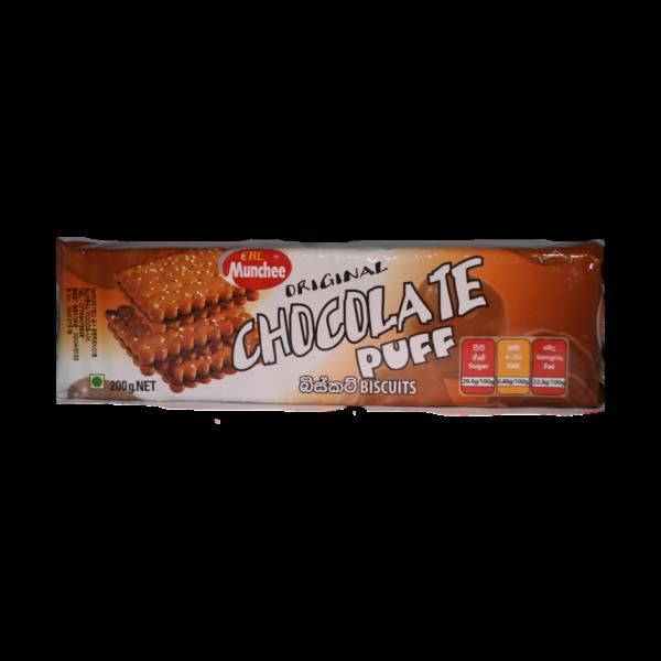 Munchee- Chocolate Puff 200g